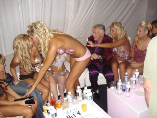 Playboy mansion nude