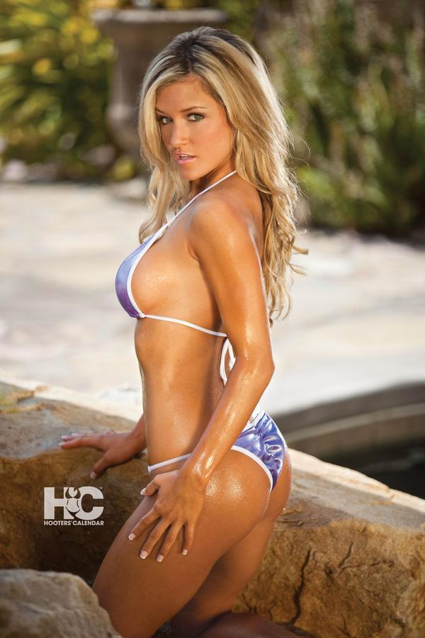 Casey luckey hooters bikini