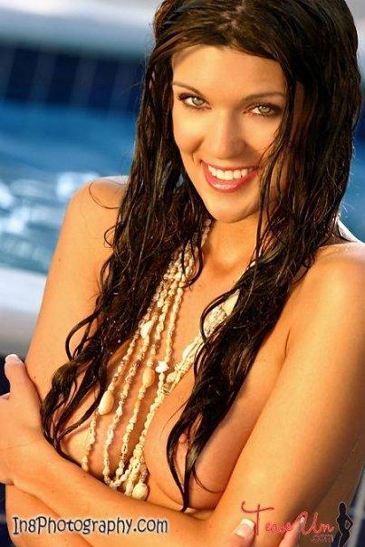 topless bikini girl