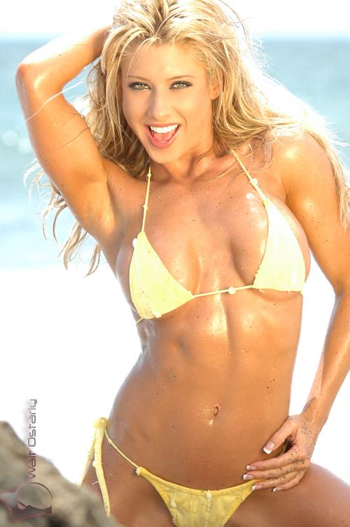 Jen Cook from Arlington, Texas is a real Bikini Cowgirl. She is a Fitness, ...