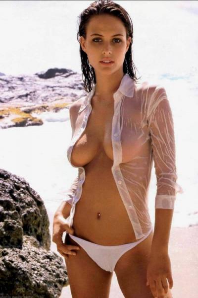 White Bikini See Thru