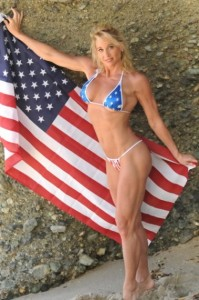 usa milfs hot moms dena weiner flag bikini