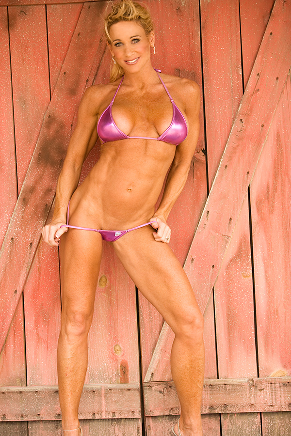 ... Model, Actress and a Pro Figure Competitor. Did we mention she is a 48