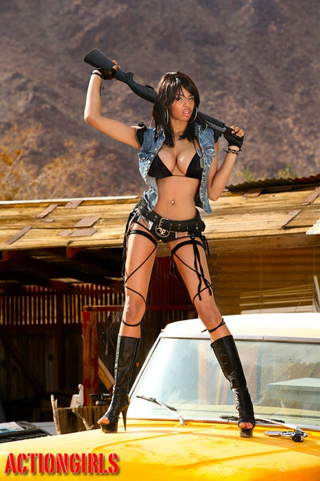 Armed And Deadly Bikini Girls