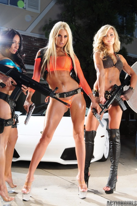 Bikinis and rifles