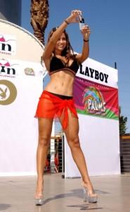 top playboy month bunny bikini girls