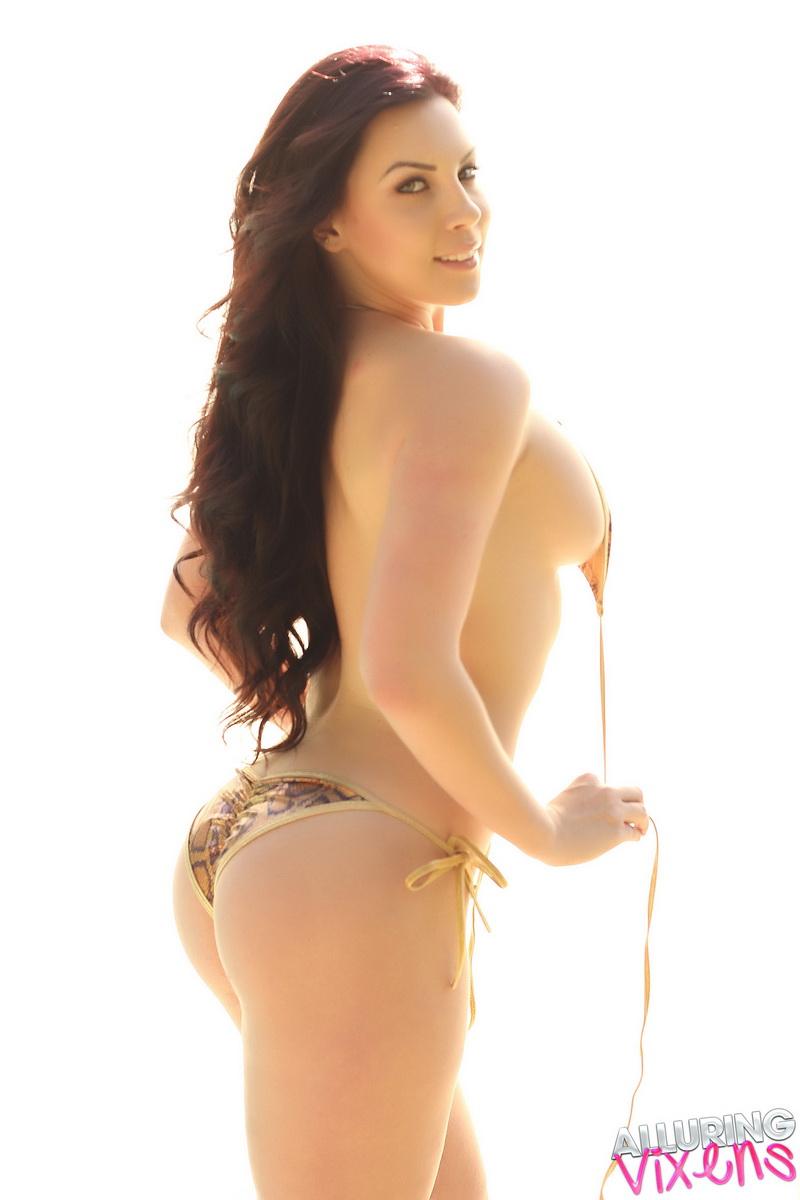 aura bikini nude naked alluring vixens