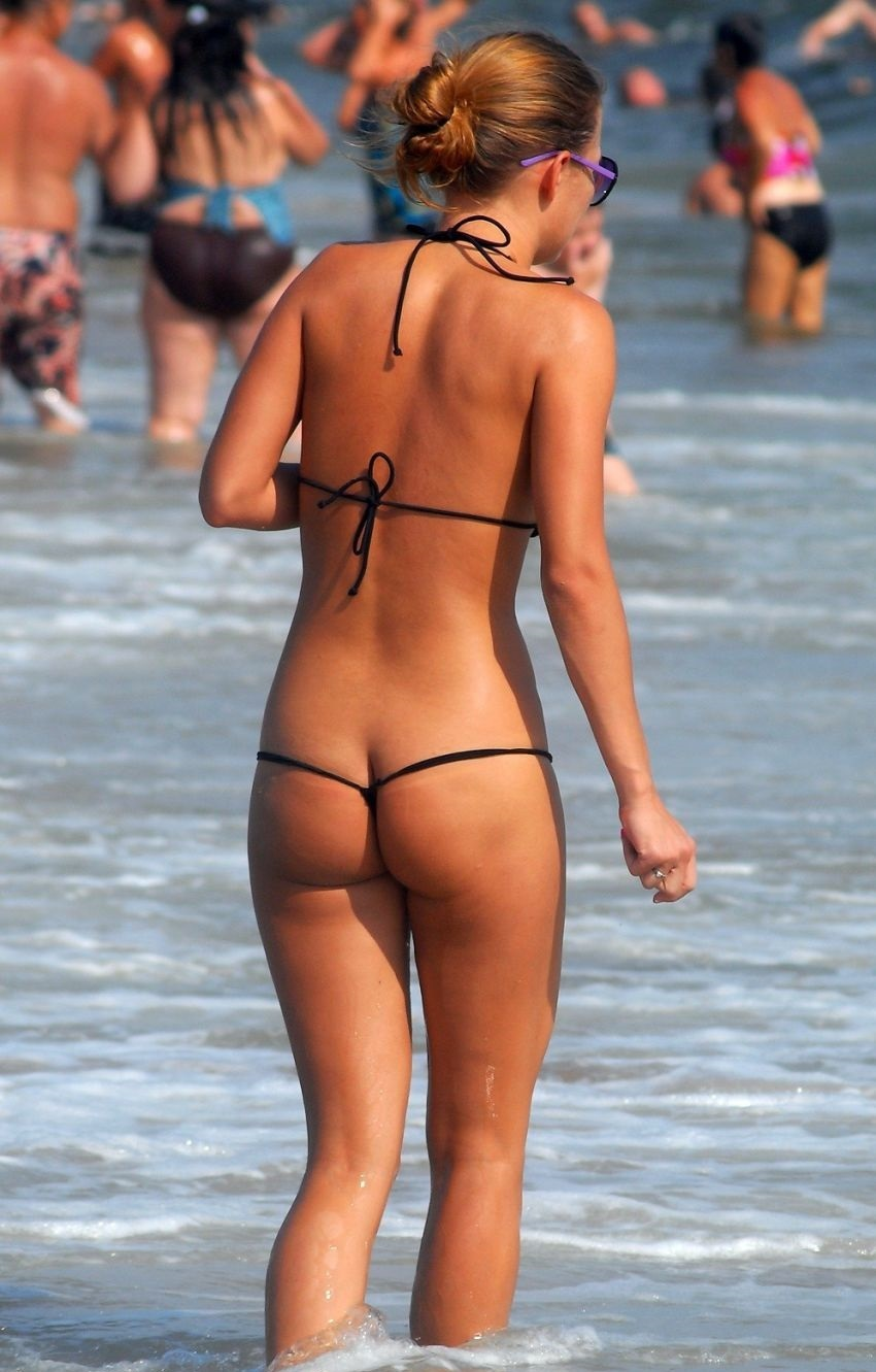 Ladies string thong bikini