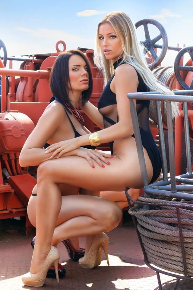 Fire girl nude