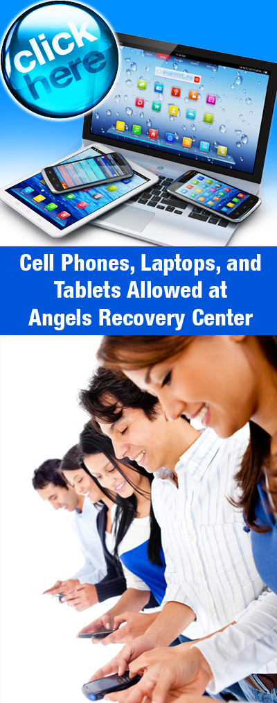 Cell Phones Laptops at Angels Recovery Center