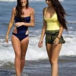 kardasian bikini hidden camera nude beach naked