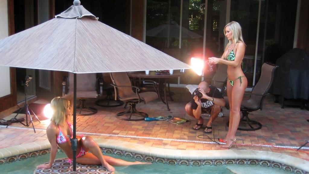 photo shoot sexy bikini girls
