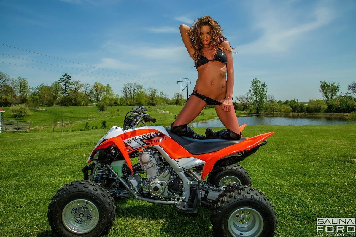 nudist girls riding atvs