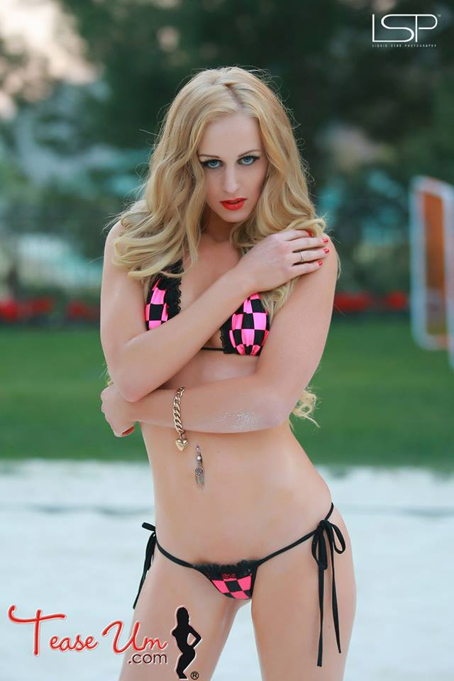 tall blonde thin petite bikini model amy marie